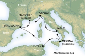 7-Night Roundtrip From Genoa or Barcelona