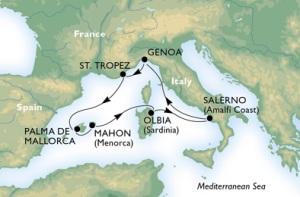 7-Night Roundtrip From Genoa