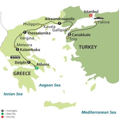 COSMOS GREECE - TURKEY