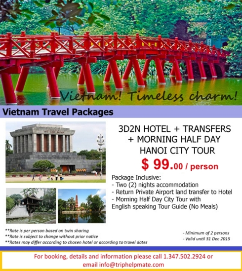 Vietnam travel package
